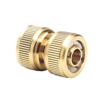 DRAPER Expert Brass 1/2in. Hose Repair Connector: Model No.GWB4/H