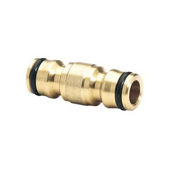 DRAPER Expert Brass 1/2in. Two Way Coupling: Model No.GWB5/H
