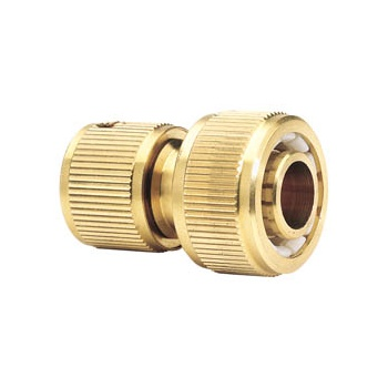 DRAPER Expert Brass 3/4in. Garden Hose Connector: Model No.GWB2A/H