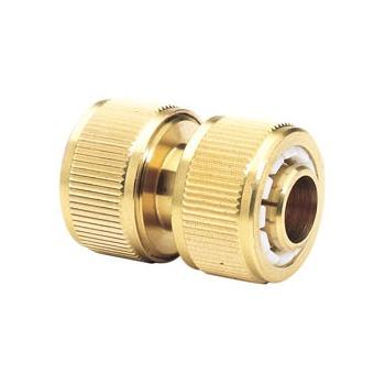 DRAPER Expert Brass 3/4in. Hose Repair Connector: Model No.GWB4A/H