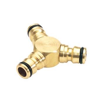 DRAPER Expert Brass 3 Way Connector: Model No.GWB7/H