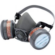 DRAPER Expert Combined Vapour and Dust Filter Respirator: Model No.TCFRHM/2