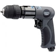 DRAPER Expert Composite Body Soft Grip Reversible Air Drill with 10mm Keyless Chuck: Model No.5276K/PRO