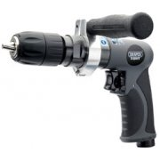 DRAPER Expert Composite Body Soft Grip Reversible Air Drill with 13mm Keyless Chuck: Model No.5277K/PRO