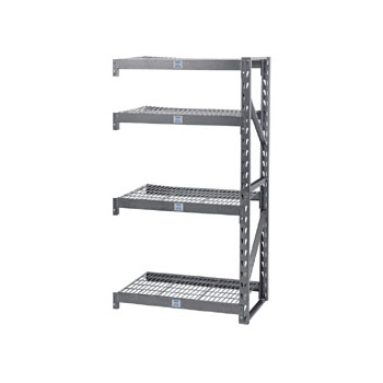 DRAPER Expert Heavy Duty Steel 4 Shelving Extension Unit - 1040 x 610 x 1830mm: Model No.MSUHD104E/PRO