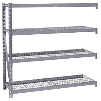 DRAPER Expert Heavy Duty Steel 4 Shelving Extension Unit - 1959 x 610 x 1830mm : Model No.MSUHD195E/PRO