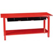 DRAPER Expert Heavy Duty Steel Workbench with Three Drawers: Model No.WB2000
