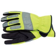 DRAPER Expert High Visibility Mechanics Gloves - Large: Model No.HVMGA