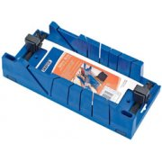 DRAPER Expert Mitre Box with Clamping Facility 370mm x 120mm x 70mm: Model No.CMB