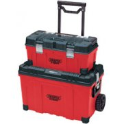 DRAPER Expert Mobile Contractors 640mm Chest and 560mm Tool Box: Model No.CTB640