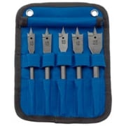 DRAPER Flat Wood Bit Set (5 piece): Model No. FB102/5