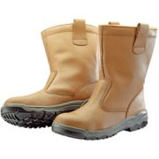 DRAPER Fur Lined Rigger Boots with Metal Toecaps to S1PA - Size 7/41: Model No.DSF10