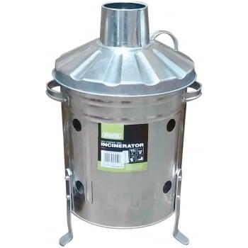 DRAPER Galvanised Mini Incinerator (15L): Model No. GMI