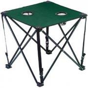 DRAPER Green Folding Canvas Table: Model No.FST1AG