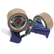DRAPER Hand-Held Packing (Security) Tape Dispenser Kit with Two Reels of Tape: Model No.TP-DIS.