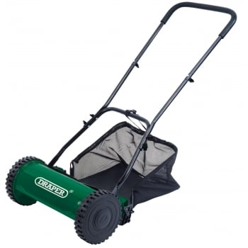 DRAPER Hand Lawn Mower (380mm): Model No. GLM38