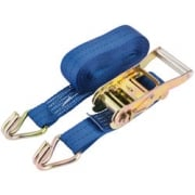Heavy Duty Ratcheting Tie Down Straps (750kg): Model No. RTDS/6M075T/HB