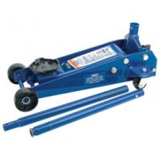 DRAPER Heavy Duty Trolley Jack (3 Tonne): Model No.TJ3HD/B
