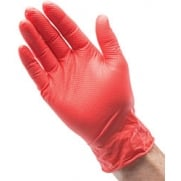 Heavyweight Nitrile Gloves (Box of 50): Model No. NGRHD-50L