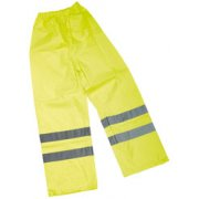 DRAPER High Visibility Over Trousers - Size XL: Model No.HVOTA