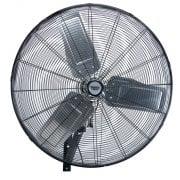 """Industrial Wall Mounted Fan 30"""" (750mm): Model No.HVW30"""