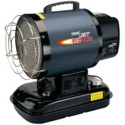 DRAPER Jet Force, Infrared Diesel/Kerosene Space Heater 60,000 BTU (17kW): Model No. DSH-IR-B