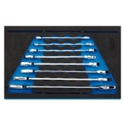 Open Ended Spanner Set in 1/4 Drawer EVA Insert Tray (8 Piece): Model No. IT-EVA41