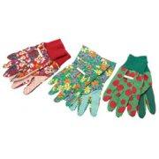 DRAPER Pack of Three Pairs of Small/Medium Gardening Gloves: Model No.LGG3/3