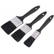 DRAPER Paint Brush Set (3 piece) : Model No.RL-PB/SET