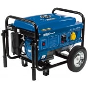 DRAPER Petrol Generator with Wheels (2.5kVA/2.5kW): Model No. PG28W