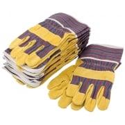 DRAPER Riggers Gloves - Pack of Ten: Model No. RGA/2