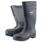 DRAPER Safety Wellington Boots to S5 - Size 8/42: Model No.SWB/C