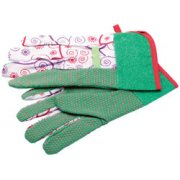 DRAPER Small/Medium Gardening Gloves: Model No.LGG3/B