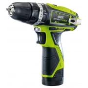 DRAPER Storm Force 10.8V Cordless Hammer Drill with Li-ion Battery: Model No. CHD108(SF)