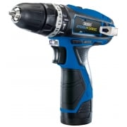 DRAPER Storm Force 10.8V Cordless Hammer Drill with Two Li-ion Batteries