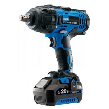 "DRAPER Storm Force 20V 1/2"" Sq. Dr. Impact Wrench with Li-ion Battery: Model No.CIW204SF-BMC"
