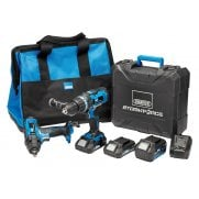 Storm Force 20V Cordless Workshop Kit: Model No.*20VWSHOP