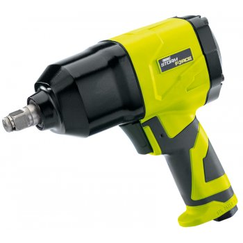 DRAPER Storm Force Air Impact Wrench with Composite Body (1/2in. Square Drive): Model No.SFAI12