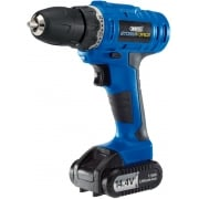DRAPER Storm Force Cordless Hammer Drill with Li-ion Battery (14.4V)