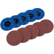 DRAPER Ten 75mm 80 Grit Aluminium Oxide Sanding Discs : Model No.SD3AB