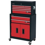 DRAPER Two Drawer Roller Cabinet and Six Drawer Tool Chest : Model No.RL-RCT8/B