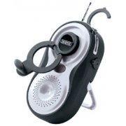 DRAPER Wind up Waterproof Radio - AM/FM: Model No.WPWUAR