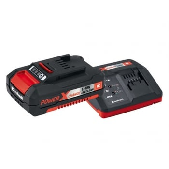 Einhell Power X-Change Battery & Charger Starter Kit 18 Volt 1 x 2.0Ah Li-Ion