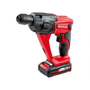 Einhell TE-HD 18 Li Cordless Rotary Hammer Kit 18 Volt 1 x 1.5Ah Li-Ion Model No. 4513810