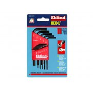 Eklind Hexagon Key Short Arm Set of 11 Imperial (1/16 - 1/4in)