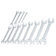 12 Piece Long Metric Open End Spanner Set: Model No.100 S 12M