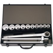 13 Piece 3/4in. Square Drive Metric Socket Set: Model No.770-S10-MZ