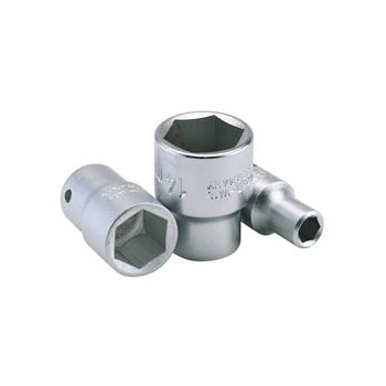 ELORA 14mm 1/4in. Square Drive Hexagon Socket: Model No.1455