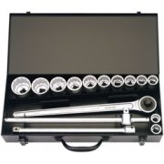 15 Piece 3/4in. Square Drive Imperial Socket Set: Model No.770-S10AZ