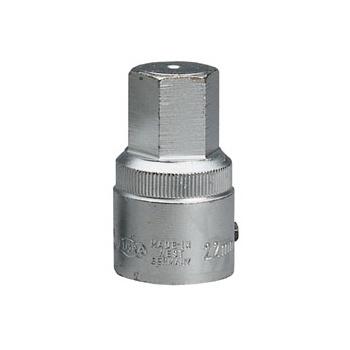 ELORA 17mm 3/4in. Square Drive Hexagon Screwdriver Socket: Model No.770-SIN